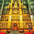 Macy's At Christmas by Randy Aveille