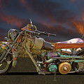 Mad Max Creater Motorcycle by Nick Gray