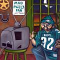 Mad Philly Fan In Texas by Elizabeth Lisy Figueroa