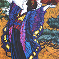 Madama Butterfly by Linda Crockett