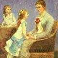 Madame Bouchet Et Ses Filles by DuboisPillet Albert