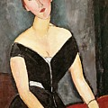 Madame G Van Muyden by Amedeo Modigliani