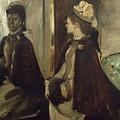 Madame Jeantaud In The Mirror by Edgar Degas