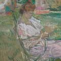 Madame Misia Natanson by Henri de Toulouse-Lautrec