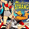 Madame Strange Comic Super Hero by R Muirhead Art