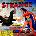 Madame Strange Female Comic Super Hero by R Muirhead Art