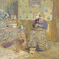 Madame Vuillard Sewing by Celestial Images