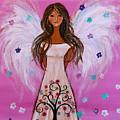 Pink Angel Of Life by Pristine Cartera Turkus