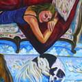 Maddy With Momo by Linda J Bean
