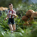 Made In China Soccer Player by Rafa Rivas
