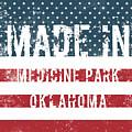 Made In Medicine Park, Oklahoma by Tinto Designs