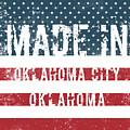 Made In Oklahoma City, Oklahoma by Tinto Designs