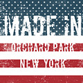 Made In Orchard Park, New York by Tinto Designs