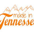 Made In Tennessee Orange by Heather Applegate