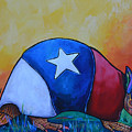 Made In Texas Armadillo by Patti Schermerhorn