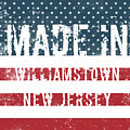 Made In Williamstown, New Jersey by Tinto Designs