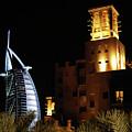 Madinat And Burj Al Arab Hotels by Graham Taylor