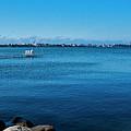 Madison Across Lake Mendota by Steven Ralser