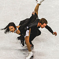 Madison Chock And Evan Bates by Don Kuing