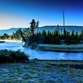Madison River Yellowstone At Dawn by Ben Graham