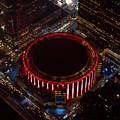Madison Square Garden Aerial by David Oppenheimer