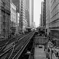 Madison St - Wabash Station - Chicago Loop by Daniel Hagerman