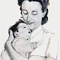 Madona And Baby by Stan Hamilton