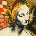 Madona Face by Jean Pierre Rousselet