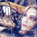 Madona Watercolor by Lyriel Lyra