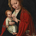 Madonna And Child by Attributed to Ambrosius Benson