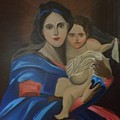 Madonna And Child by Dolores Brittain