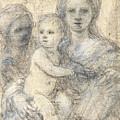Madonna And Child by Elisabetta Sirani