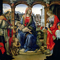 Madonna And Child by Filippino Lippi