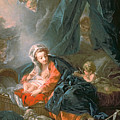 Madonna And Child by Francois Boucher