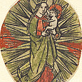 Madonna And Child by German 15th Century