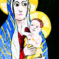 Madonna And Child by Jame Hayes