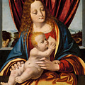 Madonna And Child by Marco d'Oggiono