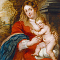 Madonna And Child by Peter Paul Rubens
