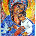 Madonna And Child by Sarah Hornsby