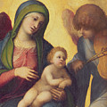 Madonna And Child With Angels by Correggio