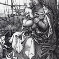 Madonna By The Tree 1513 by Durer Albrecht