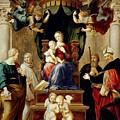 Madonna Del Baldacchino Raffaello Sanzio Da Urbino Raphael Raffaello Santi by Eloisa Mannion