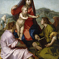 Madonna Della Scala. Virgin Of The Stairs by Andrea del Sarto