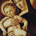 Madonna Greca - Detail by Dino Muradian
