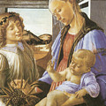 Madonna Of The Eucharist by Sandro Botticelli