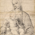 Madonna Of The Pomegranate by Raphael