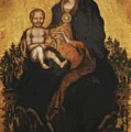 Madonna With Angels 1410 by Fabriano Gentile da