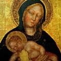 Madonna With Child Gentile Da Fabriano 1405 by Fabriano Gentile da