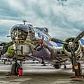 Madras Maiden B-17 Bomber by Sandra Selle Rodriguez