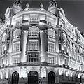 Madrid At Night by Joan Carroll